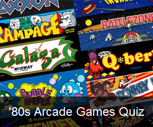Try the '80s Arcade Game Quiz