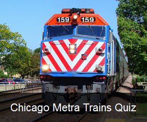 Try the Chicago Metra Trains Quiz