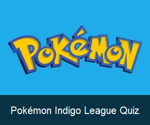 Try the Pokémon Indigo League Quiz