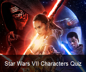 Try the Star Wars VII Characters Quiz
